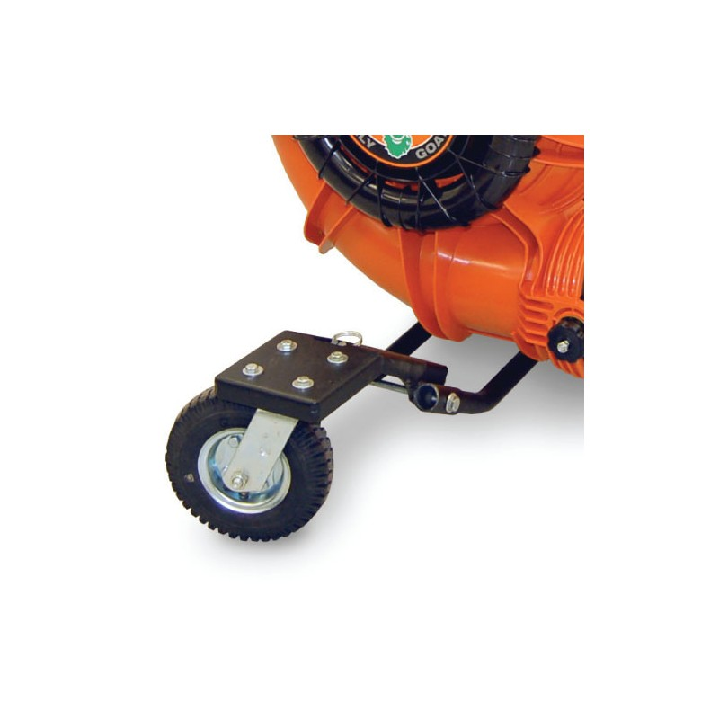 Kit de roulettes pivotantes pour souffleur sur roues 9cv 13cv 1 - Aspirateur de feuilles sur roues ...