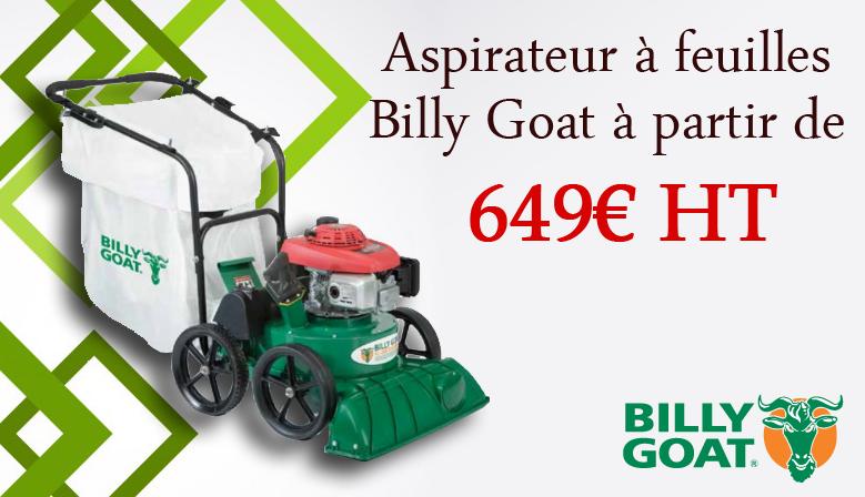 aspirateur a feuille billy goat