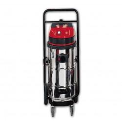 Aspirateur eau et poussiere 41L cuve inox