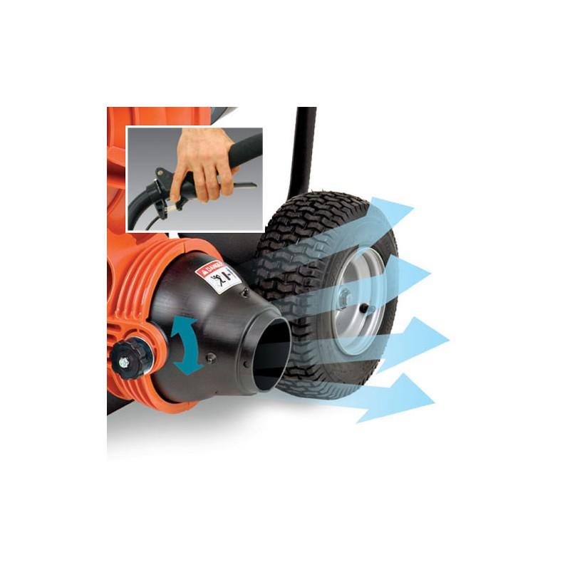 Souffleur sur roues 6cv billy goat - Aspirateur de feuilles sur roues ...