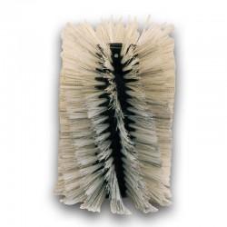 Brosse balayeuse axiale 50% acier 50% nylon 70/80/100/120