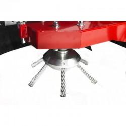 Tresses en acier de remplacement pour balayeuse désherbeuse