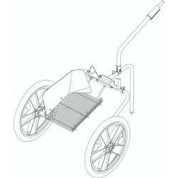 Chariot pour Aspirateur de récolte