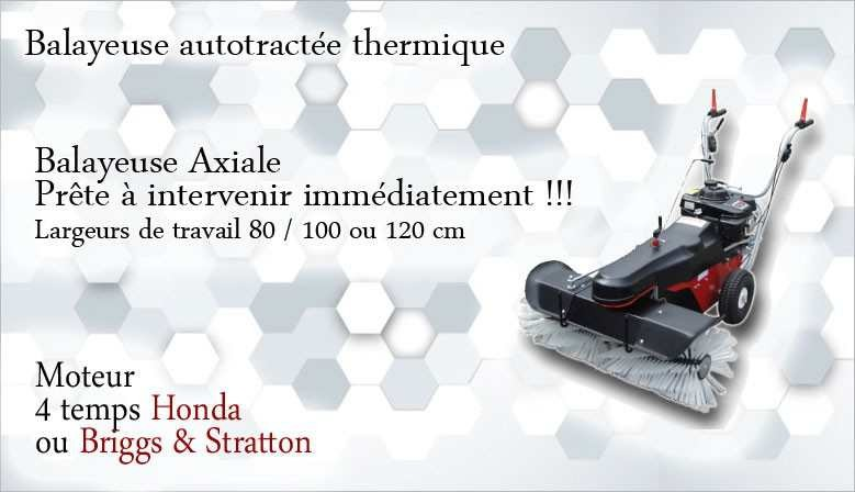 Balayeuse Axiale HKM