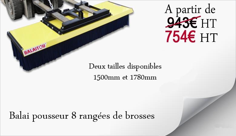 Balai Pousseur Balaitou